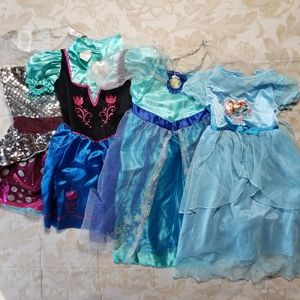 Free with Purchase Various Girl Princess Dresses